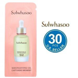 Sulwhasoo Serenedivine Oil Capturing Moment 1ml × 30pcs US Seller