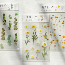Washi Paper Sticker Cute Floral Plant Decorative Scrapbooking DIY Stickers Craft