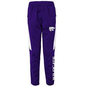 Outerstuff NCAA Youth Kansas State Wildcats Automation Field Pants, Purple