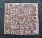 nystamps Canada NewFoundland Stamp # 5 Used UN$400 VF O22y2148