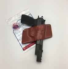 Cebeci Leather Bikini OWB Belt Holster 20863, for CZ-75, Right RH, Brown CZ 75