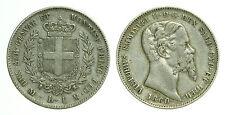 pci0432) Sardegna Vittorio Emanuele II (1849-1861) 1 Lira 1860 MI