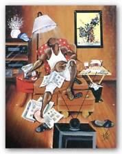 In Control Annie Lee African American Art Print 36x24