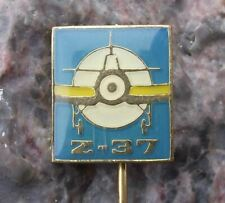 Moravan Zlin Z-37 Z37 Crop Sprayer Agricultural Light Aircraft Plane Pin Badge