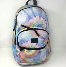 Vans Backpack Tie Dye School Bag Motiveatee Pink Blue Tye Purple New