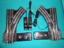 Lionel #022 Refurbished Switch Tracks 1 Pair W/  Rewired controllers