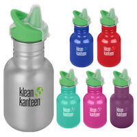 Klean Kanteen Kid Classic 12 oz. Single Wall Bottle with Sippy Cap