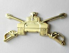 US ARMY CAVALRY ARMORED DIVISION BADGE LAPEL PIN BADGE 1.25 INCHES