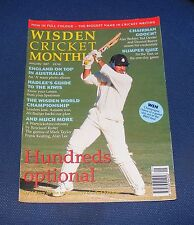 WISDEN CRICKET MONTHLY JANUARY 1997 - HUNDREDS OPTIONAL