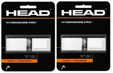 Head Hydrosorb Pro Tennis, Squash or Badminton Racket Grip (White) - 2 Grips