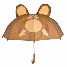 Monkey Child UMBRELLA Cute Colorful Kids Rain Gear 28 inch in diameter