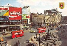 B88920 coca cola double decker bus car fuji jvc advertising uk london piccadilly