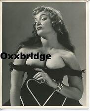IRMA THE BODY Roy Kemp ORIGINAL 1950 BURLESQUE PHOTO Cabaret Dancer Nude Female
