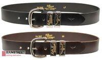 RM Williams Leather Jerrawa Belt - RRP 119.99 - FREE EXPRESS POST