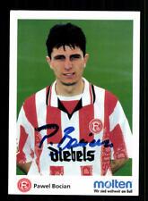 Pawel Bocian Autogrammkarte Fortuna Düsseldorf 1997-98 Original Signiert