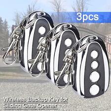 New Wireless keypad Backup for Sliding Gate Opener Automatic Operator Set of 3