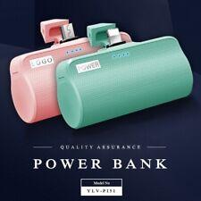 Mini Portable Power Bank External Battery Charger With LED Flashlight 3000mAh