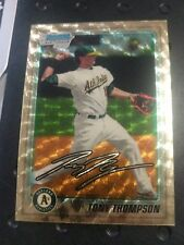 2010 Bowman Chrome Tony Thompson Superfractor Rookie RC 1/1 OAKLAND ATHLETICS