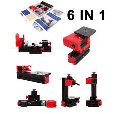 6 in 1 Mini Drehmaschine Drehbank Metalldrehbank Metalldrehmaschine DIY Kit