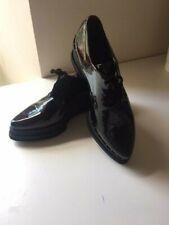 Sixtyseven Damas Zapatos de plataforma Patente Negro Talla 38/UK 5