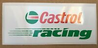 Castrol Racing Decal / Stickers x 2