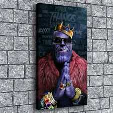 Boss Thanos Poster Painting HD Print on Canvas Home Decor Wall Art Picture