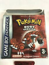 Pokemon Ruby Version - GBA  Game  Nintendo ds gameboy advance UK PAL