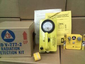 CIVIL DEFENSE CD V-777-2 RADIATION DETECTION KIT CDV-715,-742(2),&-750 (A)