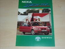 49964) Daewoo Nexia Sportiv Prospekt 199?