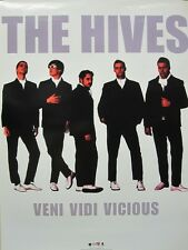 The HIVES 2002 VENI VIDI VICIOUS promotional poster ~MINT CONDITION~!!