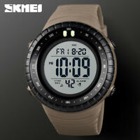 SKMEI Men's Sport Watch Countdown Dual Time Digital Alarm 50m Waterproof 1420 1