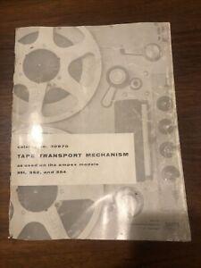 Ampex 351 352 354 Tape Transport Manual Schematics