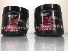 Equate Pre-Workout Powder Fruit Punch BCAA Creatine Beta Alanine 50 Servings 2PK