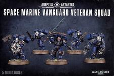 Space Marine Vanguard Veteran Squad Marines Warhammer 40k NEW