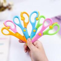 Kids Plastic Safety Scissors Toddler Paper Cutting Child PreSchool Arts Craft