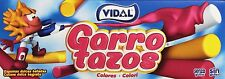 Vidal Garrotazos Colores 150 Unidades