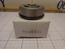 """7510DLG Bearing .625"""" ID 1.75"""" OD .625"""" wide   5/8""""   Single Row with  Snap Ring"""