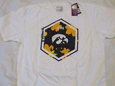 NCAA Iowa Hawkeyes Adidas White T-Shirt XX-Large/XXL/2XL NWT!