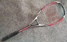 Wilson ncode K Tour red white & black Squash Racquet
