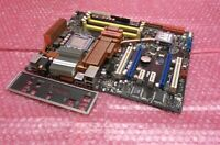 Asus P5E LGA775 Socket 775 DDR2 2 x PCI-E System Motherboard with Backplate