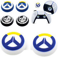 2pcs Grip Controller Thumbstick Rocker Caps for Sony DualSense PlayStation 5 PS5