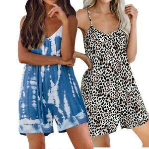 Loose Women Rompers M-2XL Women Womens 1pc Fashion Jumpsuit Rompers Durable