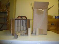 Empty 100 Toilet Rolls Craft Art Cardboard Tubes Kids Various Diameters Clean