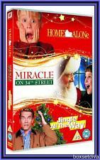 HOME ALONE- MIRACLE ON 34TH STREET -JINGLE ALL THE WAY *BRAND NEW DVD BOXSET***