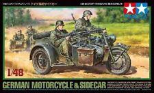 Tamiya 1/48 Alemán Moto & Sidecar #32578