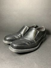 Rockport Black Leather Loafers Washable Casual Comfort Shoes Mens - 10M