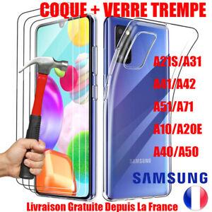Custodia Antiurto + Pellicola Protettiva Vetro Temprato Samsung Galaxy A10 A20e