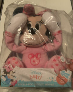 Disney Baby Peek-A-Boo Plush, Minnie Mouse, Ages 0+