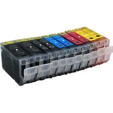 10 Druckerpatronen für Canon I 865 ohne Chip