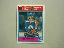 1982/83 O-PEE-CHEE NHL HOCKEY CARD #1 WAYNE GRETZKY RB EX+ SHARP!! 82/83 OPC